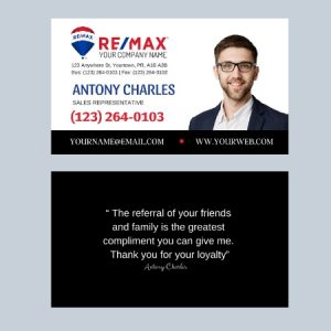 Business Cards-Remax
