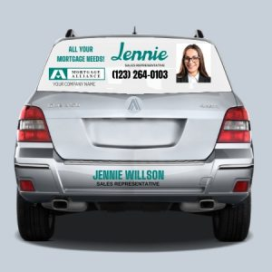 Car Signs-Mortgage Alliance